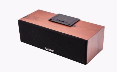 Ubon GBT-270 Wooden 3.7 W Bluetooth Speaker(Red, Stereo Channel)