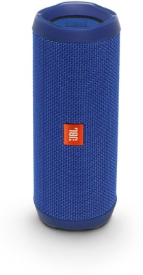 JBL Flip 4 16 W Portable Bluetooth Speaker(Dark Blue, Stereo Channel)