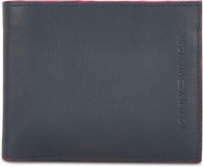 TOMMY HILFIGER Men Blue Genuine Leather Wallet 8 Card Slots TOMMY HILFIGER Wallets