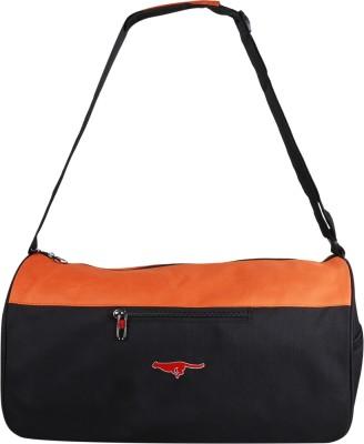 Gene MN 0288 ORG BLK Travel Duffel Bag Orange