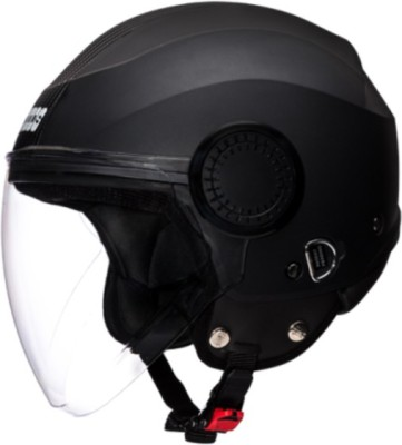 Studds Urban O/F Strip Motorbike Helmet(Black Black Strip)