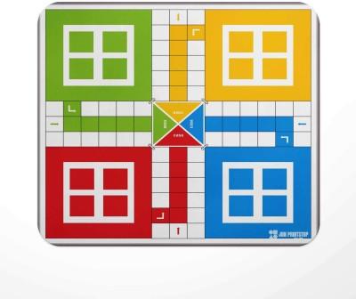 Jbn Premium Ludo Board | Premium Gaming Mousepad | Anti-Slip Rubber Base Mousepad(Multicolor)