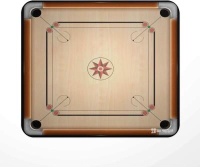 Jbn Carrom Board | Premium Gaming Mousepad | Anti-Slip Rubber Base Mousepad(Multicolor)