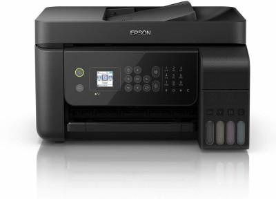 Epson EcoTank L5190 Wi-Fi Multifunction InkTank Printer with ADF Multi-function Color Printer(Black)