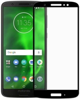 Richuzers Edge To Edge Tempered Glass for Motorola Moto E5(Pack of 1)