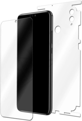 Mudshi Front and Back Screen Guard for Huawei Honor 8X(Pack of 2)