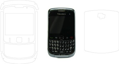 MudShi Front and Back Screen Guard for Blackberry 8520 (Curve 3G)(Pack of 2)