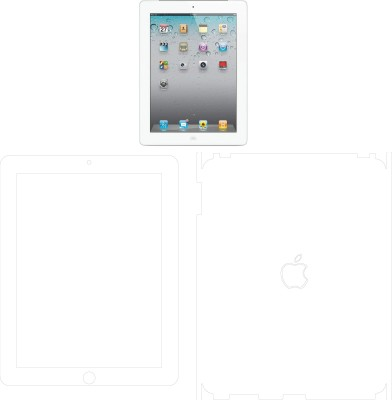 MudShi Front and Back Screen Guard for Apple Ipad(Pack of 2)