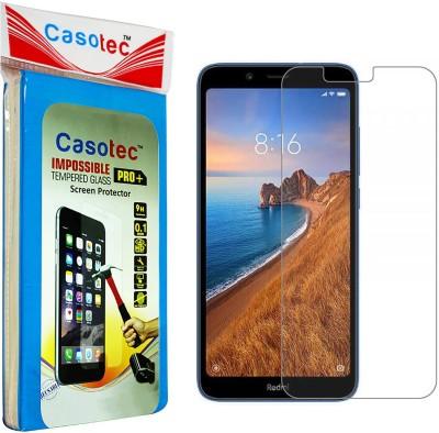 Casotec Impossible Screen Guard for Mi Redmi 7A(Pack of 1)