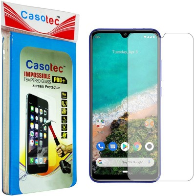 Casotec Impossible Screen Guard for Mi A3(Pack of 1)