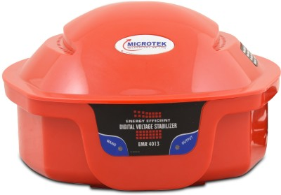 Microtek EMR 4013 Voltage Stabilizer Red Microtek Voltage Stabilizers
