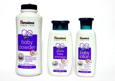Himalaya Gentle Baby Shampoo   Baby Powder   Baby Lotion White