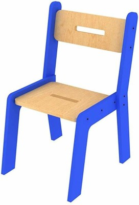 Lycka Metal Chair(Finish Color - Orange)