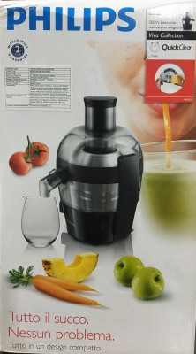 Philips Stainless Steel Hand Juicer(Black)