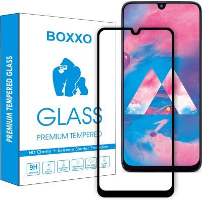 Kavacha Edge To Edge Tempered Glass for Samsung Galaxy A30, Samsung Galaxy A30s, Samsung Galaxy A50, Samsung Galaxy A50s, Samsung Galaxy M30, Samsung Galaxy M30s, Samsung Galaxy A20(Pack of 1)