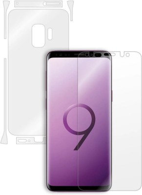Mudshi Front and Back Screen Guard for Samsung Galaxy S9(Pack of 2)