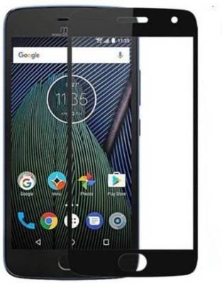 CLASIKCART Edge To Edge Tempered Glass for Motorola Moto G5s(Pack of 1)