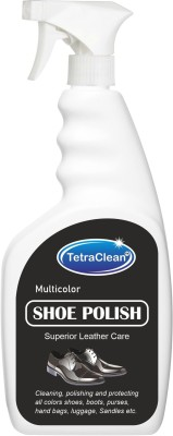 TetraClean Shoe Polish Shiner(Leather, Nubuck, Synthetic Leather, Multicolor)