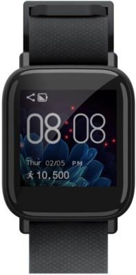 Gizmore *** 902 Black Smartwatch(Black Strap Regular)