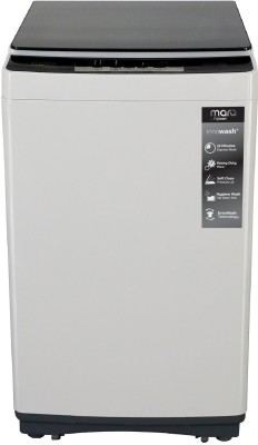 MarQ By Flipkart 8 kg with Delay Start Fully Automatic Top Load Grey(MQTLBG80)