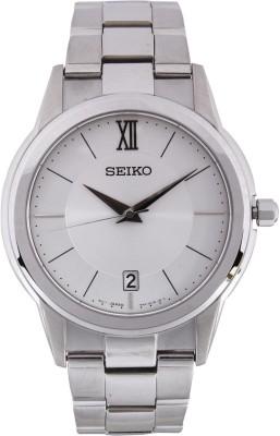Seiko SGEF41P1 Dress Analog Silver Dial Men's Watch (SGEF41P1)
