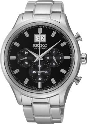 Seiko SPC083P1 Dress Analog Black Dial Men's Watch (SPC083P1)