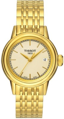 Tissot T085.210.33.021.00 Carson Analog Watch  - For Women