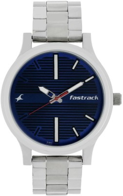 Fastrack NN38051SM03 Analog Watch   For Men Fastrack Wrist Watches