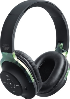 SoundLogic Heroes Edition AER Headphone Bluetooth Headset(Camo, Wireless over the head)