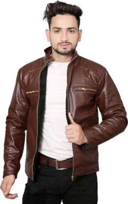 IAC Full Sleeve Solid Men Jacket