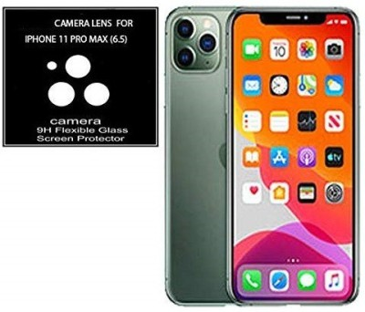 KHR Camera Lens Protector for Apple iphone 11 Pro Max (6.5 Inch) Shock Proof Camera Lens Guard Screen Guard HD Clear Camera Glass Protector(Pack of 2)