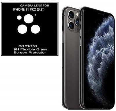 KHR Camera Lens Protector for Apple iphone 11 Pro Lens Guard Anti Scratch Camera Lens Screen Protector 9H HD Camera Guard(Pack of 2)