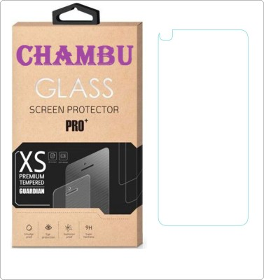 CHAMBU Edge To Edge Tempered Glass for Micromax Bolt A35(Pack of 1)