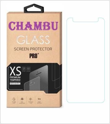 CHAMBU Edge To Edge Tempered Glass for Intex Aqua 3X(Pack of 1)