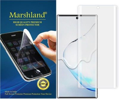 Marshland Screen Guard for Samsung Galaxy Note 10 Plus Front 3D Transparent(Pack of 1)