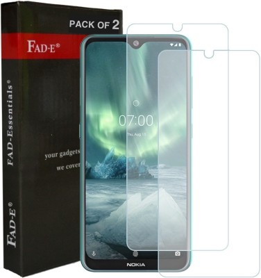 FAD-E Tempered Glass Guard for Nokia 7.2(Pack of 2)