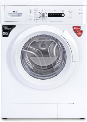 IFB 6 kg 5 Star Fully Automatic Front Load with In-built Heater White(Diva Aqua VX)