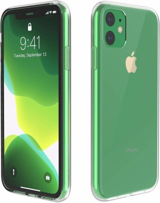 TROOZ Back Cover for apple Iphone 11(Transparent, Silicon)