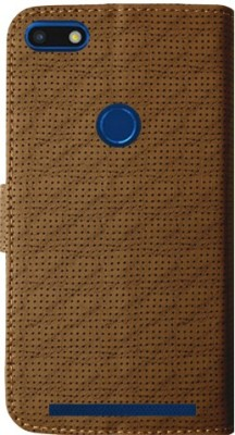 MAXSHAD Flip Cover for Yu Ace(Brown)