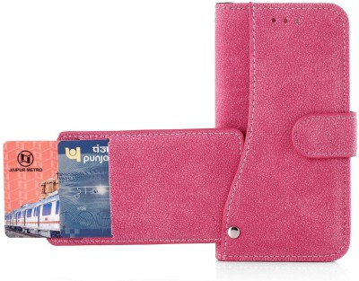 Heavy Duty Wallet Case Cover for Apple iPhone 6 / iPhone 6s (4.7 Inch)(Pink, Shock Proof)