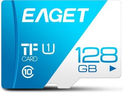 Eaget Premium 128  GB MicroSD Card Class 10 100 MB/s Memory Card
