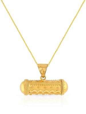 Malabar Gold and Diamonds MHAAAAAFITNA 22kt Yellow Gold Pendant