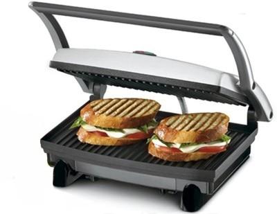 Nova 2 SLICE SANDWICH MAKER Grill(Black & Steel)