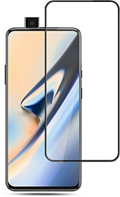 NaturalBuy Edge To Edge Tempered Glass for OnePlus 7 Pro (Premium Full Size Temepred Glass Screen )(Pack of 1)