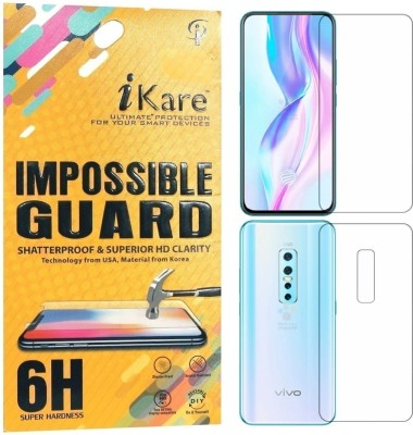 iKare Front and Back Screen Guard for Vivo V17 Pro(Pack of 2)
