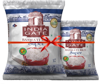 India Gate Super Basmati Rice (Long Grain)(1 kg)