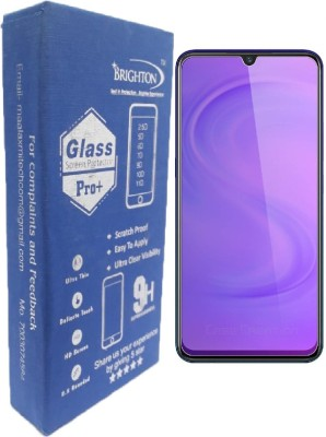 BRIGHTRON Edge To Edge Tempered Glass for Vivo S1 Tempered Glass Screen Guard Best Anti Blue Ray Screen Protector Eye Protection Safe Guard Strong Glass 2019 (Clear Finish) (pack of 2)(Pack of 2)