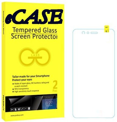 eCase Tempered Glass Guard for Lava Iris X1 Grand(Pack of 1)
