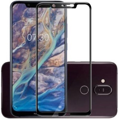 vaprif Tempered Glass Guard for Nokia 8.1(Pack of 1)