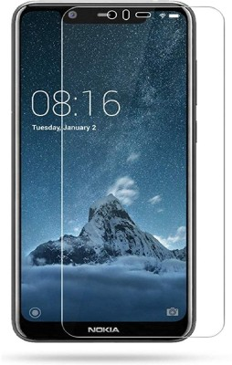 Power Tempered Glass Guard for Nokia 5.1 Plus(Pack of 1)
